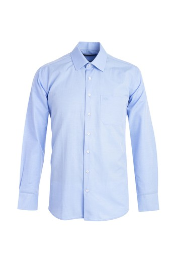 Erkek Giyim - Uzun Kol Klasik Desenli Gömlek