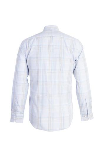 Erkek Giyim - Uzun Kol Klasik Ekose Gömlek