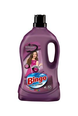 Erkek Giyim -   Beden Bingo Çamaşır Deterjanı Onaran Koruma Sıvı Bakım 4 lt