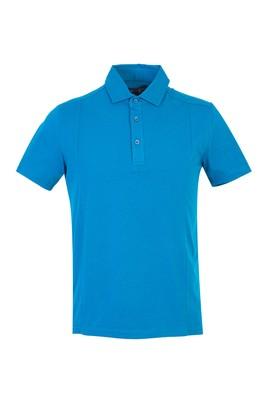 Erkek Giyim - PETROL XXL Beden Polo Yaka Slim Fit Tişört