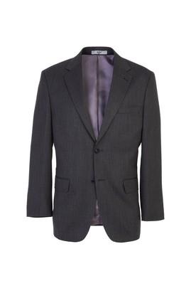Erkek Giyim - SİYAH 58 Beden Klasik Kuşgözü Ceket