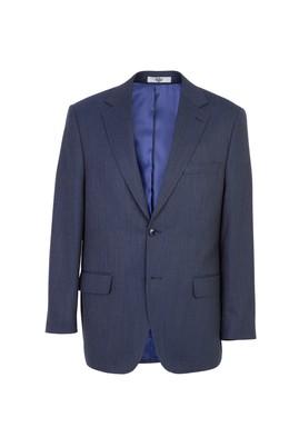 Erkek Giyim - KOYU LACİVERT 56 Beden Klasik Kuşgözü Ceket
