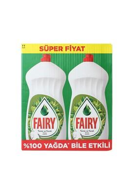 Erkek Giyim -   Beden Fairy Bulaşık Deterjanı Aile Paketi Elm.2X1350 ml