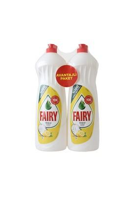 Erkek Giyim -   Beden Fairy Sıvı Bulaşık Deterjanı Limon 2X1000 ml