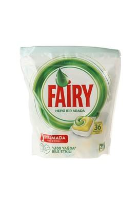 Erkek Giyim -   Beden Fairy Hepsi Bir Arada Tablet 36'lı