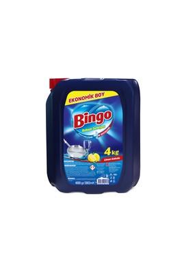 Erkek Giyim -   Beden Bingo Sıvı Bulaşık Deterjanı Limon 4 kg