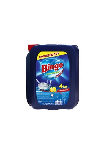 Erkek Giyim - Bingo Sıvı Bulaşık Deterjanı Limon 4 kg