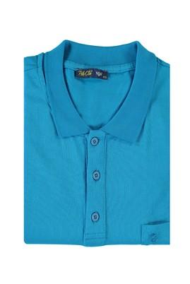 Erkek Giyim - TURKUAZ 6X Beden King Size Polo Yaka Süprem Tişört