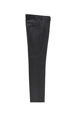 Erkek Giyim - KOYU ANTRASİT 56 Beden Klasik Kuşgözü Pantolon