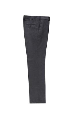Erkek Giyim - KOYU ANTRASİT 60 Beden Klasik Kuşgözü Pantolon
