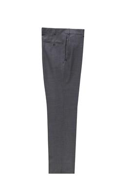 Erkek Giyim - ORTA GRİ 54 Beden Yünlü Klasik Pantolon