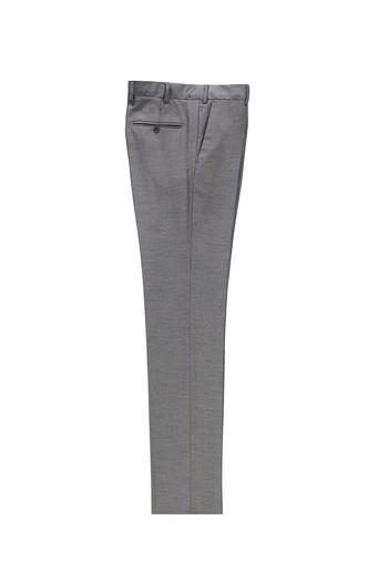 Erkek Giyim - Slim Fit Klasik Kuşgözü Pantolon