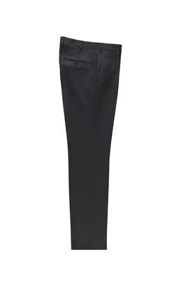 Erkek Giyim - ORTA FÜME LOT1 62 Beden Klasik Kuşgözü Pantolon