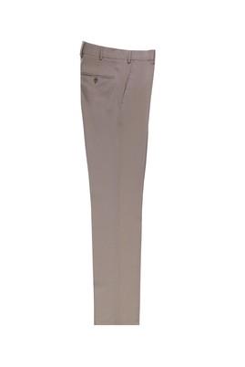 Erkek Giyim - ORTA BEJ -1 50 Beden Yünlü Klasik Pantolon