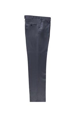 Erkek Giyim - PETROL YEŞİLİ 48 Beden Klasik Kuşgözü Pantolon