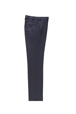 Erkek Giyim - ORTA FÜME 56 Beden Klasik Kuşgözü Pantolon