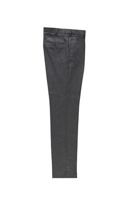 Erkek Giyim - ORTA FÜME LOT1 56 Beden Klasik Kuşgözü Pantolon