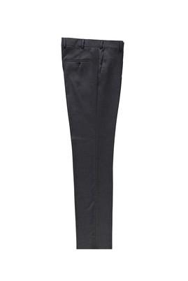 Erkek Giyim - KOYU FÜME 58 Beden Klasik Kuşgözü Pantolon