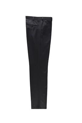 Erkek Giyim - KOYU ANTRASİT 52 Beden Yünlü Klasik Pantolon