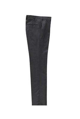 Erkek Giyim - AÇIK ANTRASİT 50 Beden Klasik Yünlü Pantolon