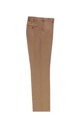 Erkek Giyim - AÇIK KAHVE LOT2 50 Beden Yünlü Klasik Pantolon