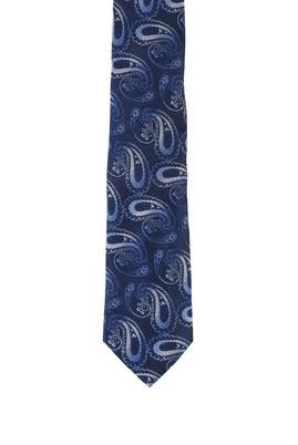 Erkek Giyim - SAKS MAVİ  Beden Desenli Kravat