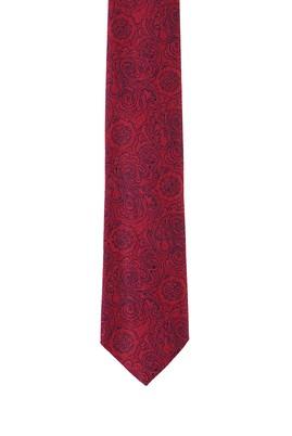 Erkek Giyim - MERCAN KIRMIZI  Beden Desenli Kravat
