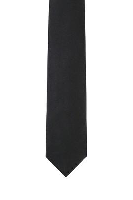 Erkek Giyim - SİYAH  Beden Düz Saten Kravat