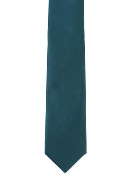 Erkek Giyim - KOYU YEŞİL  Beden Düz Saten Kravat