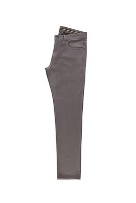 Erkek Giyim - HAKİ 46 Beden Slim Fit Spor Desenli Pantolon