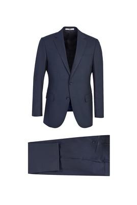 Erkek Giyim - LACİVERT 48 Beden Klasik Takım Elbise