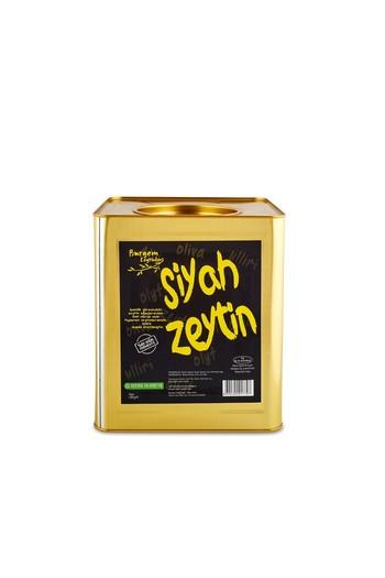 Erkek Giyim - Burgem Siyah Zeytin Teneke 10 kg
