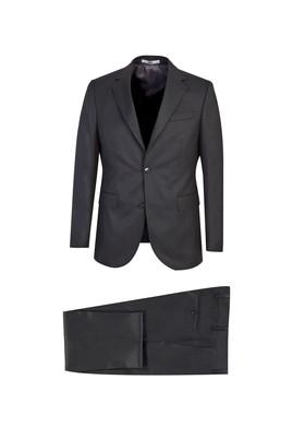 Erkek Giyim - KOYU ANTRASİT 62 Beden Klasik Takım Elbise