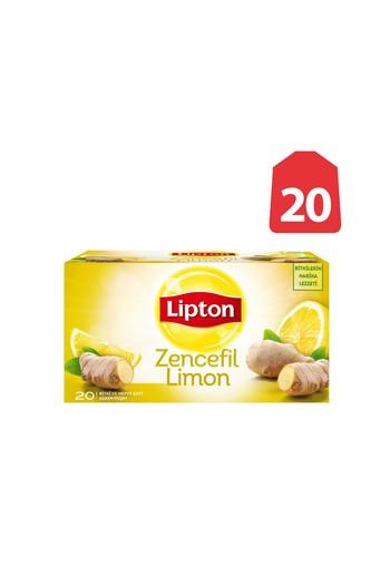 Erkek Giyim - Lipton Çay Zencefil-Limon 20'li
