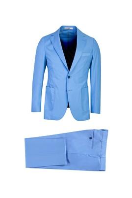 Erkek Giyim - AÇIK MAVİ 48 Beden Slim Fit Takım Elbise