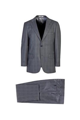 Erkek Giyim - AÇIK GRİ 48 Beden Klasik Takım Elbise