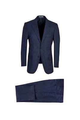 Erkek Giyim - AÇIK LACİVERT 66 Beden Klasik Takım Elbise