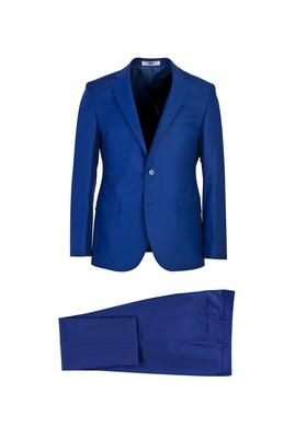 Erkek Giyim - MAVİ 48 Beden Klasik Takım Elbise