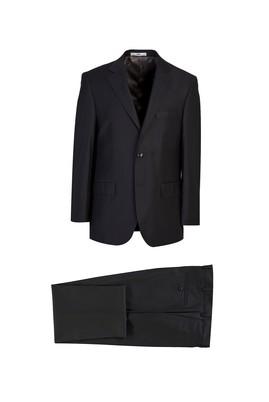 Erkek Giyim - SİYAH 54 Beden Klasik Takım Elbise