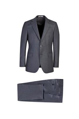 Erkek Giyim - MARENGO 44 Beden Slim Fit Desenli Takım Elbise