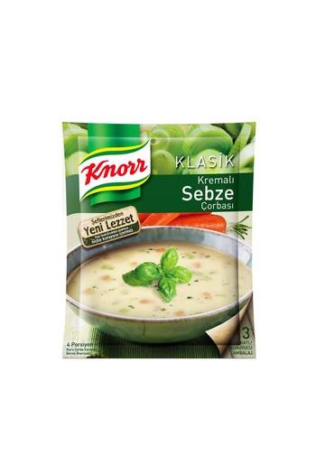 Erkek Giyim - Knorr Kremalı Sebze Çorbası 65 gr