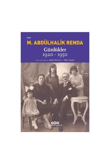 Erkek Giyim - Mustafa Abdülhalik Renda - Günlükler 1920-1950