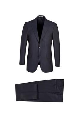 Erkek Giyim - ORTA LACİVERT 60 Beden Klasik Takım Elbise