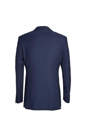Erkek Giyim - Klasik Yünlü Desenli Takım Elbise