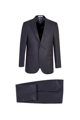 Erkek Giyim - KOYU MARENGO 58 Beden Klasik Takım Elbise