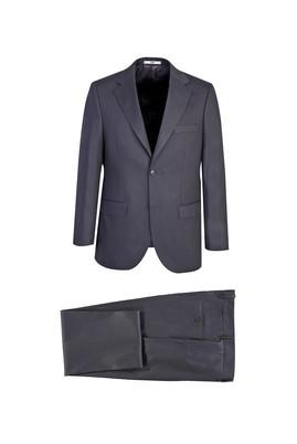Erkek Giyim - AÇIK FÜME 56 Beden Klasik Takım Elbise