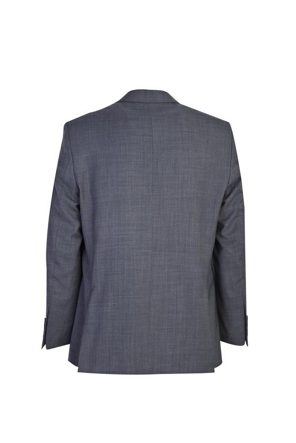 Klasik Yünlü Desenli Takım Elbise