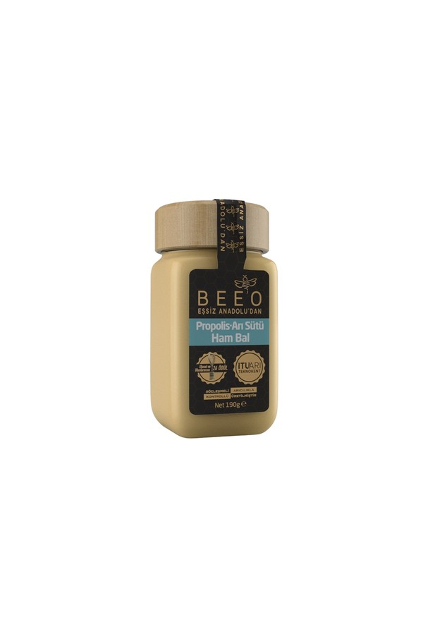 BEE'O Propolis + Arı sütü + Ham Bal karışımı (PAB) Yetişkinler için