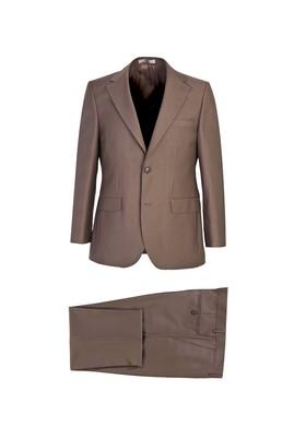 Erkek Giyim - ORTA KAHVE 52 Beden Klasik Takım Elbise