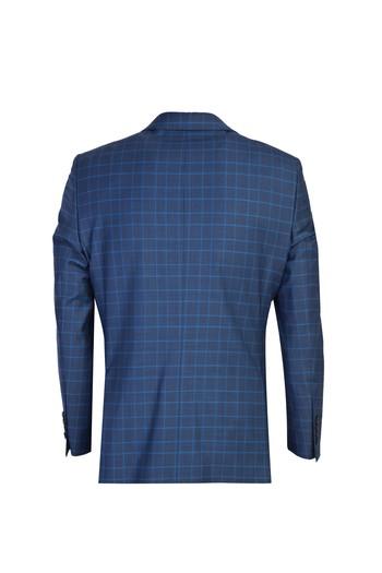 Erkek Giyim - Klasik Yünlü Ekose Takım Elbise